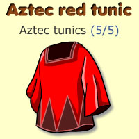 Aztec red tunic