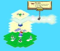 Snowman Island locked
