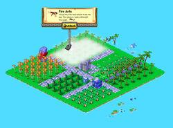 Farm Island locked