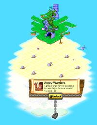 Pineapple Island locked