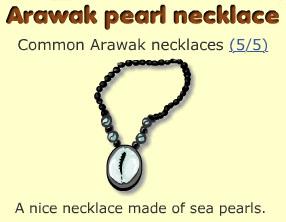 Arawak pearl necklace