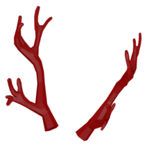 Crimson antlers