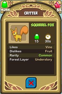 Squirrel Fox Almanac