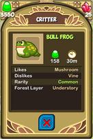 Bull Frog Almanac