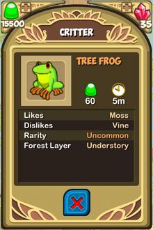 Tree Frog Almanac