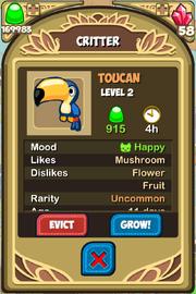Toucan Almanac