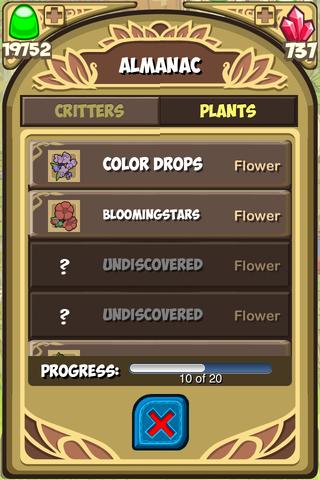 Almanac plants