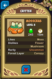 Mosscrab Almanac