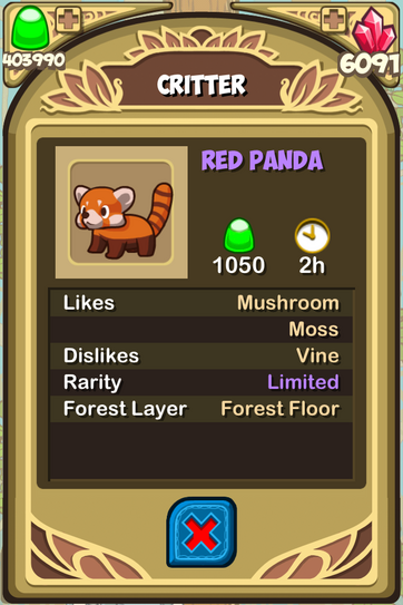 Red panda almanac