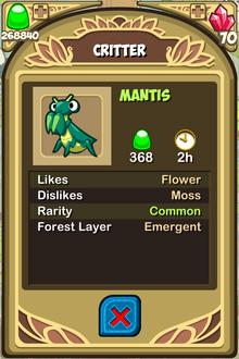 Mantis Almanac