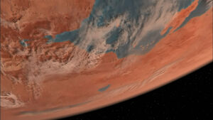 Vulcan from Orbit, 2154