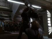 Worf tötet Gowron