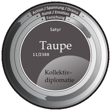 Kompass-Taupe