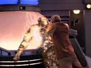 Odo tötet den Gründer
