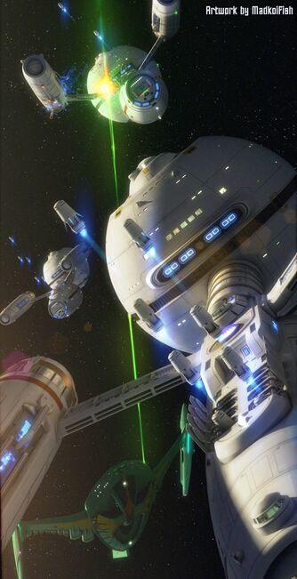 Daedalus Romulanischer Krieg TEXT