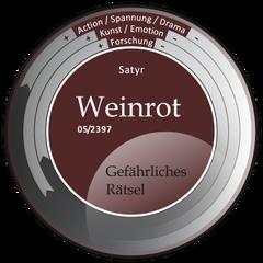 Kompass-Weinrot