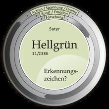 Kompass-Hellgrün