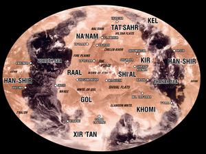 Map of Vulkan UK