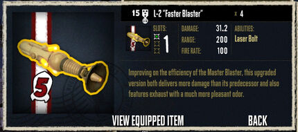 L-2 Faster Blaster