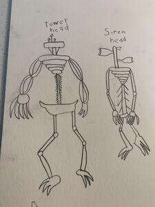 Siren Head Trevor Henderson Inspiration Wiki Fandom