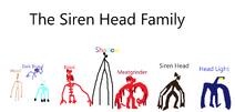 Siren Head Family