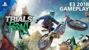 Trials Rising - Gameplay Preview PlayStation Live From E3 2018