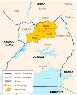 Acholiland, Uganda