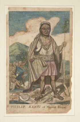 Philip King of Mount Hope by Paul Revere