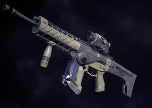 Light assault rifle pathfinder