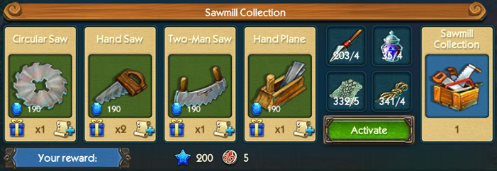 Sawmill Collection