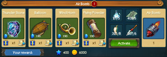 Air Bomb Collection
