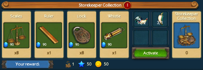 Store Keeper Collection