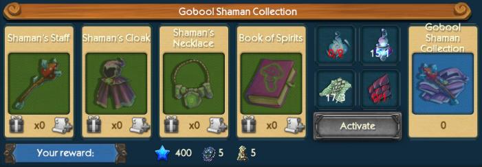 Gobool Shaman Collection