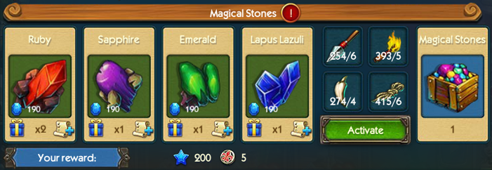 Magical Stones Collection