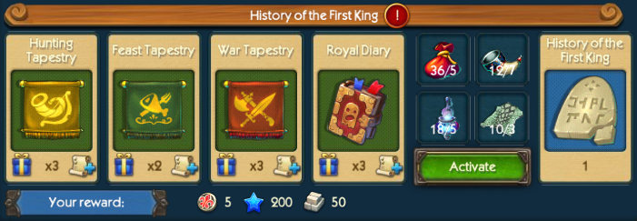 History Of King Collection