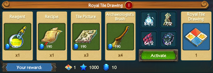 Royal Tile Drawing Collection