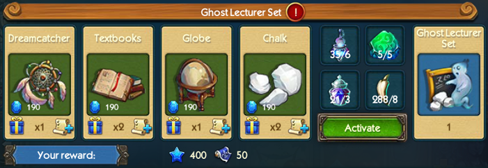 Ghost Lecturer Set Collection