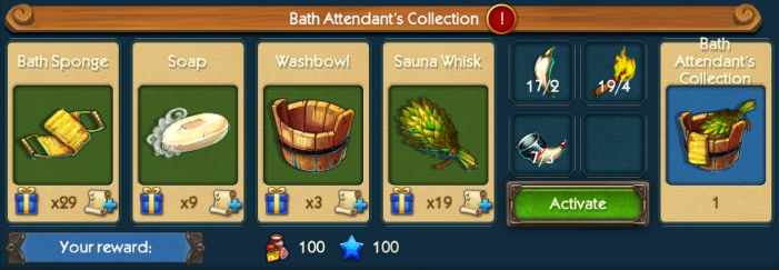 Bath Attendant Collection