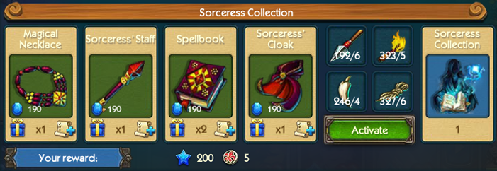 Sorceress Collection