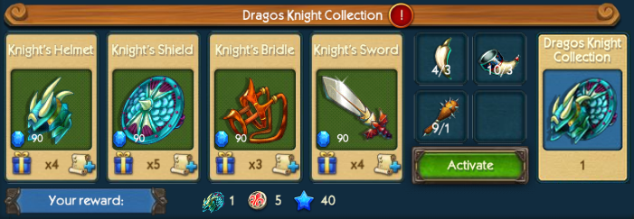 Dragos Knight Collection