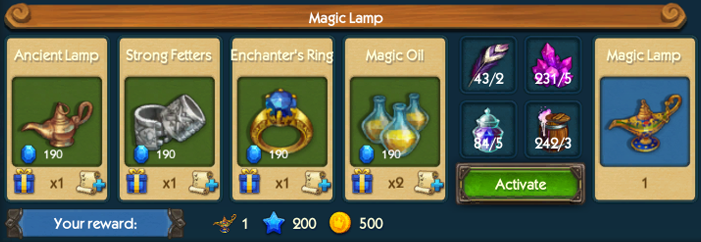 Magic Lamp Collection