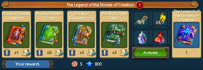 Stone Creation Catalog Collection