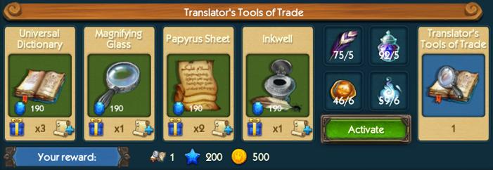 Translators Tools Collection