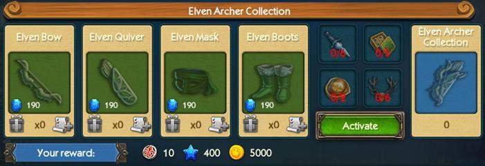 Elven Archer Collection