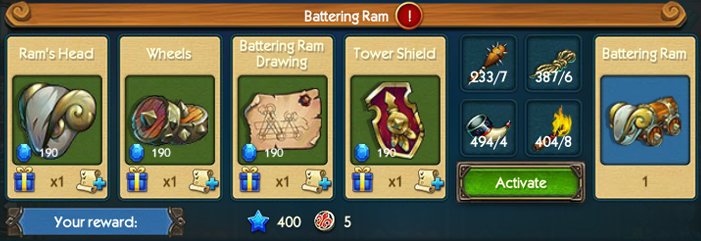 Battering Ram Collection