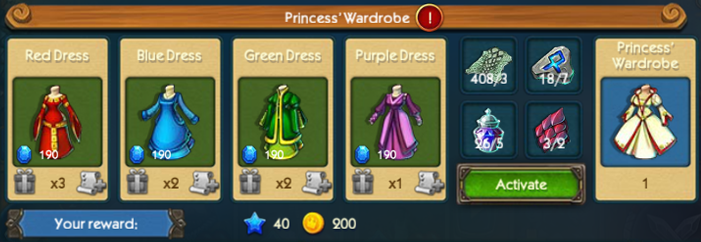 Princess Wardrobe Collection