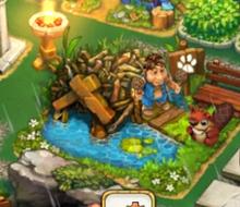 Beaver Pup in a Hut