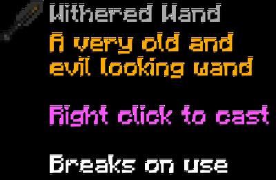 Witheredwand