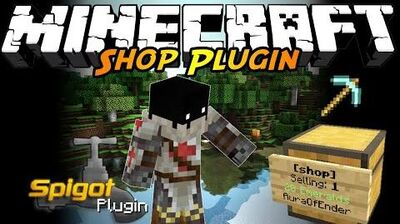 Shop - The Easiest Minecraft Shop Plugin