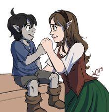 Irina with her little boy, June, by Kris Callahan